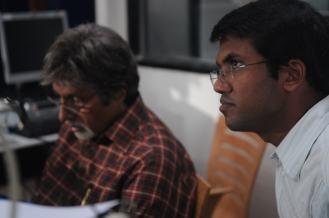 With Mr. Amitabh Bachchan@ Teen Patti